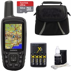 Garmin GPSMAP 64sc Handheld GPS - 1 Year BirdsEye 010-011...