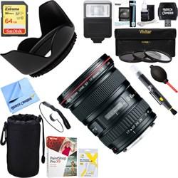 Canon EF 17-40mm F/4 L USM Lens + 64GB Ultimate Kit