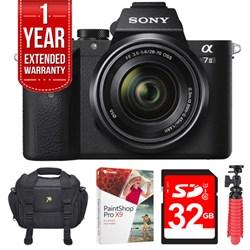 Sony Alpha 7II Mirrorless Interchangeable Lens Camera 28-...