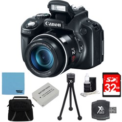 Canon Powershot SX60 HS 65x Zoom High-Performance Camera ...