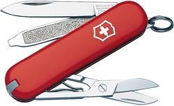 Victorinox Swiss Army Classic SD Pocket Knife (Red)