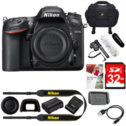 "Nikon D7200 DX-Format 24.2MP HD-DSLR Body w/ 3.2"" LCD WiF..."