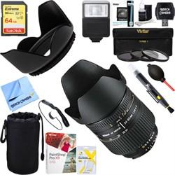 Nikon 24-85mm F/2.8-4D AF Zoom-Nikkor Lens 1929 + 64GB Ul...