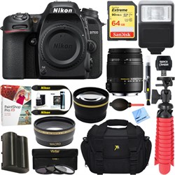 Nikon D7500 20.9MP Digital SLR Camera + Sigma 18-250mm Ma...