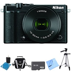 Nikon 1 J5 Digital Camera w/ NIKKOR 10-30mm f/3.5-5.6 PD ...