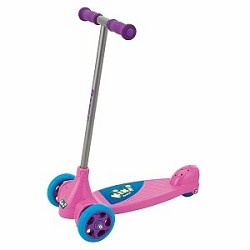 Click here for Razor Kixi Kix 3-Wheel Kids Kick Scooter - Pink/Pu... prices