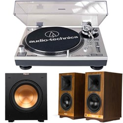Audio-Technica ATLP120USB Stereo Turntable USB with Klips...