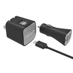 Click here for DigiPower Dual USB Wall and Car ChrgrKit prices