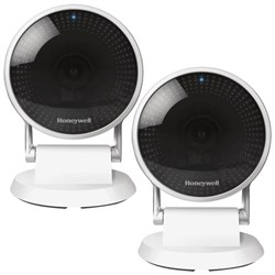 Honeywell 2-Pack Lyric C2 Indoor Wi-Fi Security Camera Ta...