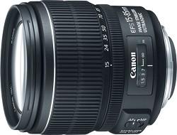 Canon EF-S 15-85mm f/3.5-5.6 IS USM Standard Zoom Lens