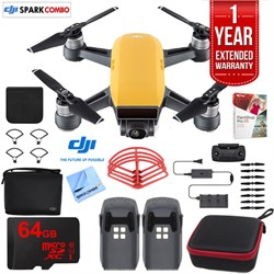 DJI SPARK Fly More Drone Combo Sunrise Yellow - CP.PT.000...