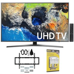 "Samsung 40"" UHD 4K HDR LED Smart HDTV, Black (2017 Model)..."