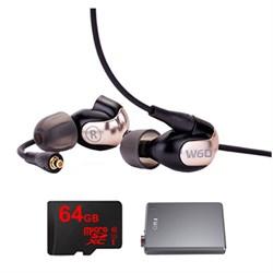 WESTONE W60 Premium In-Ear Monitor - 78507 w/ FiiO A5 Amp...