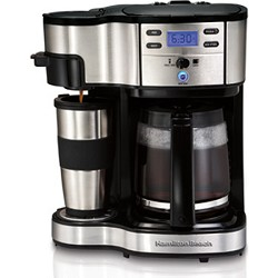Hamilton Beach Two Way Brewer Single Serve and 12 cup Coffee Maker HB49980