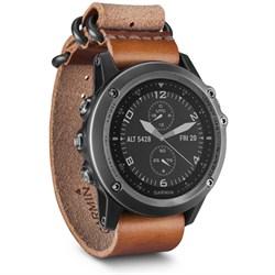 Garmin Fenix 3 Sapphire GPS Watch - Gray w/ Leather Strap...