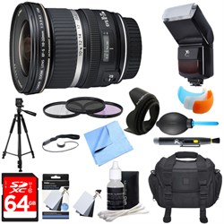 Canon EF-S 10-22mm F/3.5-4.5 USM Lens Ultimate Accessory ...