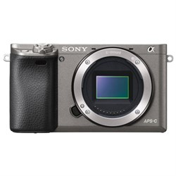 Sony Alpha a6000 24.3MP Grey Interchangeable Lens Camera ...