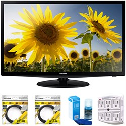 "Samsung 28"" Slim LED HD 720p TV 2014 Model UN28H4000 with..."