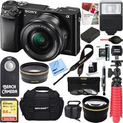 Sony Alpha a6000 24.3MP Mirrorless Camera 16-50mm Power Z...