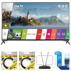 "LG 60"""" Super UHD 4K HDR Smart LED TV 2017 Model 60UJ7700 with Cleaning Bundle"" E8LG60UJ7700"