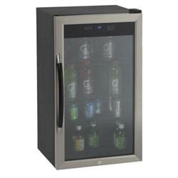 Avanti 3.0cf Cabinet with Stainless Steel Glass Door Beve...