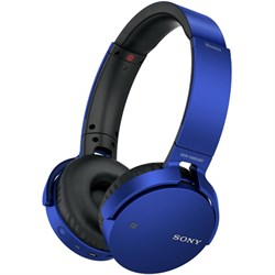 Sony MDR-XB650BT XB Series Wireless Bluetooth Headphones w/ Extra Bass - Blue SNMDRXB650BTBL
