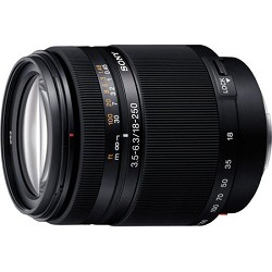 Sony SAL18250 - DT 18-250mm f/3.5-6.3 High Magnification ...