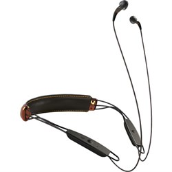 Klipsch X12 Bluetooth Neckband Headphones (Black Leather) - 1063591 E1KLP1062797RB