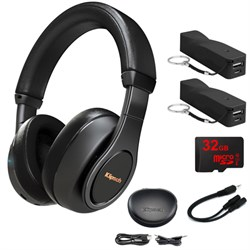 Klipsch Reference Over-Ear Bluetooth Headphones Black w/ ...