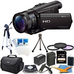 Sony HDR-CX900/B HD Camcorder Kit