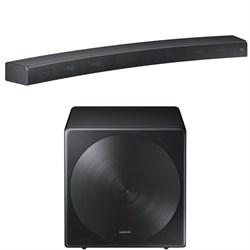 Samsung HW-MS6500/ZA Sound+ Curved Premium Soundbar w/ SW...