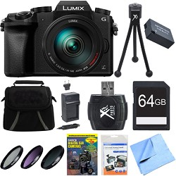 Panasonic LUMIX G7 Interchangeable Lens 4K Video DSLM Cam...