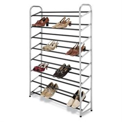 Click here for Whitmor Silver Epoxy Metal Shoe Tower prices