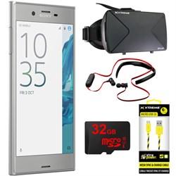 """Sony Xperia XZ 5.2"""" 32GB Unlocked Smartphone Platinum w/ ..."""