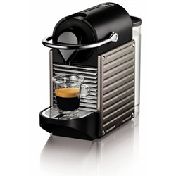 Nespresso Pixie Espresso Maker, Electric Titan NESC60USTINE