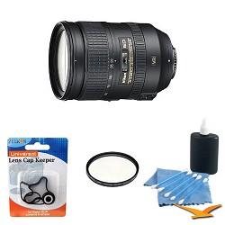 Nikon 2191 - 28-300mm f/3.5-5.6G ED VR AF-S NIKKOR Lens W/ Hoya filter and Accy kit E1NK28300VR