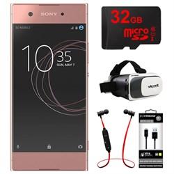 Sony XA1 16GB 5-inch Smartphone, Unlocked - Pink w/ 32GB ...
