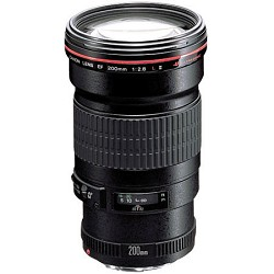 Canon EF 200mm f/2.8L II USM, CANON AUTHORIZED USA DEALER WARRANTY INCLUDED