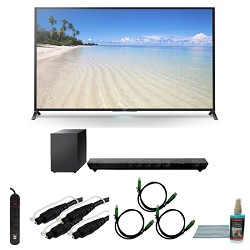 Sony KDL60W850B - 60-Inch 1080p 120Hz Smart 3D LED HDTV Motionflow XR 480 Wifi Bundle
