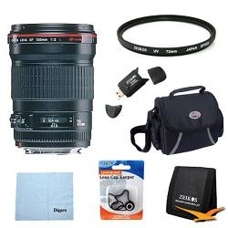Canon 135mm f/2.0L USM Telephoto Lens Exclusive Pro Kit