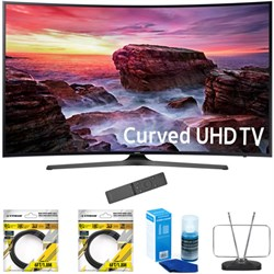 "Samsung 49"" Curved 4K Ultra HD Smart LED TV 2017 Model wi..."