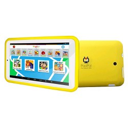 Jazz PadPal 7 inch Dual Core Family Android Tablet in Yellow