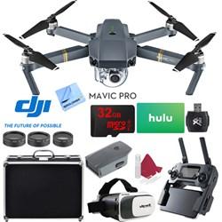 DJI Mavic Pro Quadcopter Drone with 4K Camera and Wi-Fi S...