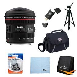 Canon EF 8-15mm f/4L Fisheye USM Ultra-Wide Zoom Lens Exc...