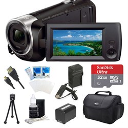 Sony HDR-CX440/B Entry Level Full HD 60p Camcorder Kit