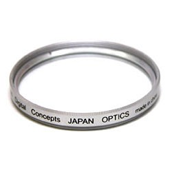 Digital Concepts 40.5mm clear glass UV Filter (you must have this basic clear filter!)