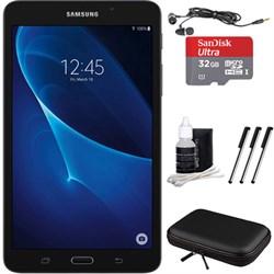"""Samsung Galaxy Tab A Lite 7.0"""""""" 8GB Tablet PC (Wi-Fi) Black, 32GB Card, and Case Bundle"""" E3SAMSMT230NYK"""