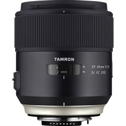 Tamron SP 45mm f/1.8 Di VC USD Lens for Canon EOS Mount (...