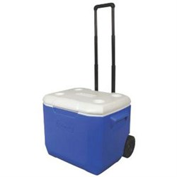 Coleman 60-Quart Personal Wheeled Cooler in Blue - 3000001838 COL3000001838