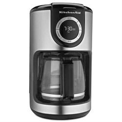KitchenAid 12-Cup Glass Carafe Coffee Maker in Onyx Black - KCM1202OB KAKCM1202OB